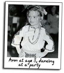 Ann Morash, age 3